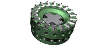 Walter PCD-surface milling cutter F4050