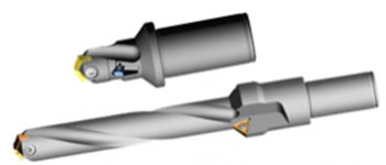 Walter indexable drill for face holes