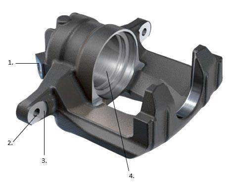 Brakes - Brake caliper